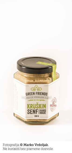 Kruškin senf Green Friends 200G